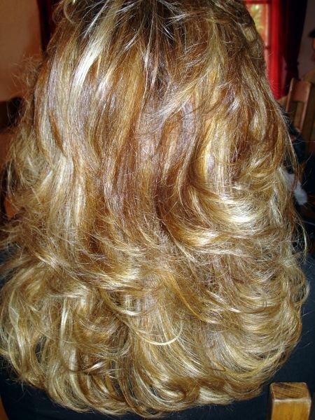 Albums photos coiffure domicile - Photos meches blondes et noires ...