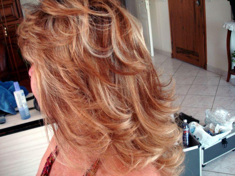Fabulous Coiffure mèches blondes et cuivrées - Atelier de stefani KJ85